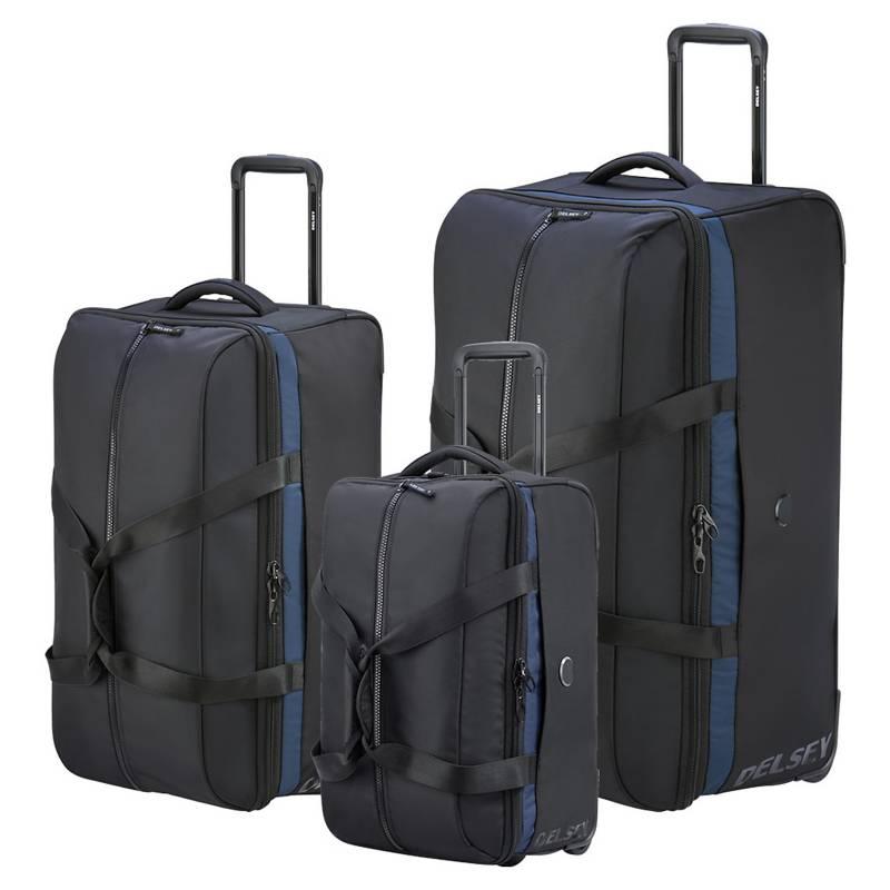 Delsey - Set de bolsos con carro Egoa 78 cm