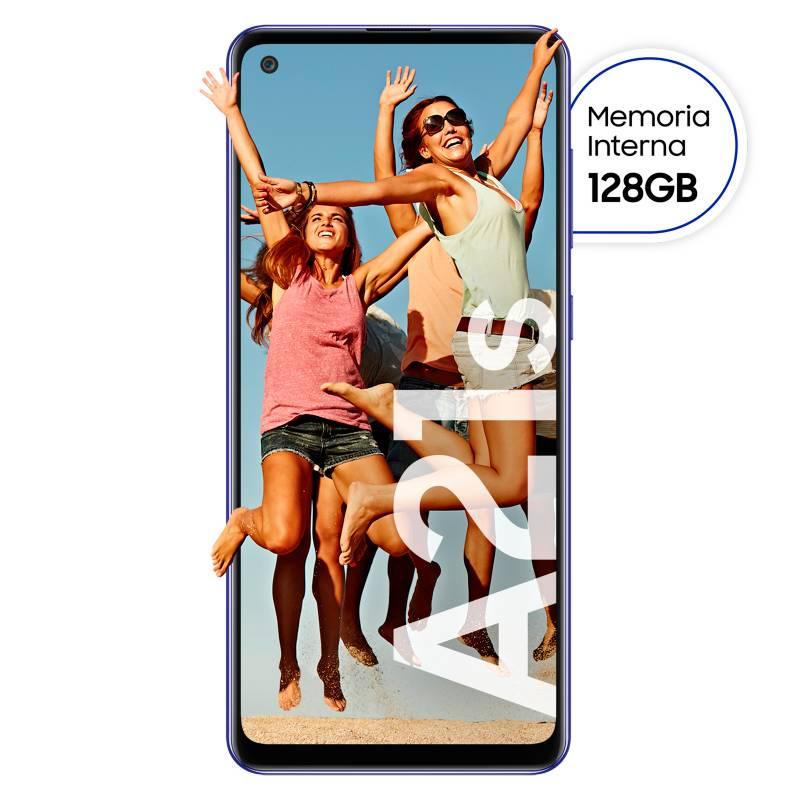 Samsung - Celular libre A21S Azul 128GB 4GB RAM