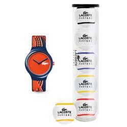 Lacoste - Reloj LC2020113 + 5 pelotas de tennis
