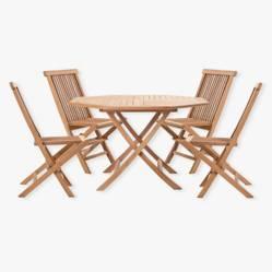 Juego mesa chica + 4 sillas