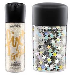 Prep + Prime Fix 100 ml Gold Lite + Glitter Silver Stars