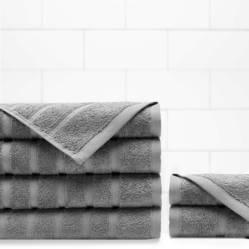 Basement Home - Juego de toallas 680 g/m² Combed
