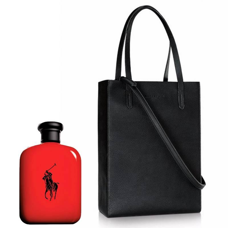 Ralph Lauren - Polo Red EDT 75 ml + Cartera Ralph Lauren