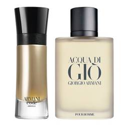 Armani - Acqua Di Gio Men EDT 50 ml  + Code Absolu EDP 60 ml