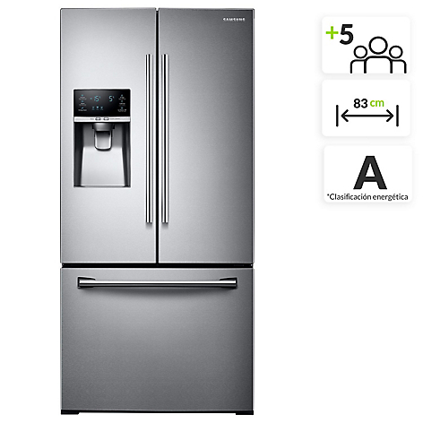 Nevecón Samsung Tipo Europeo French Door 580L RF26J7500SL/CA