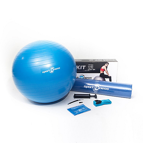 Kit de Yoga Azul