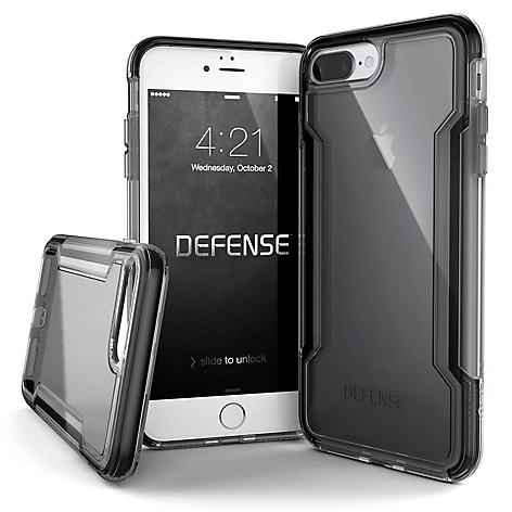 Estuche Xdoria Para Iphone 7/8 Plus Defense Clear Negro