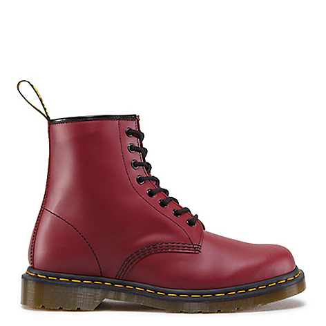 Botas 1460 Cherry Red Smooth