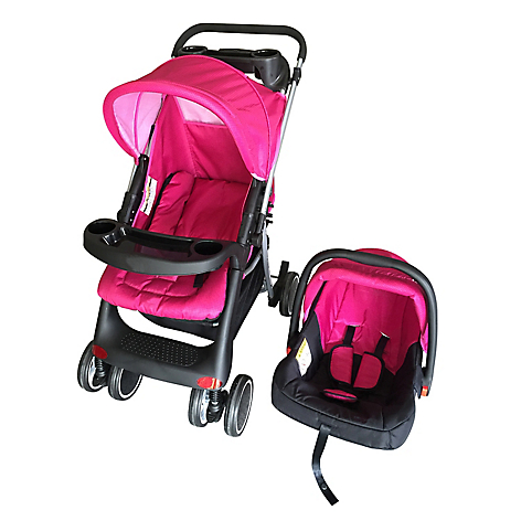 Coche Travel System Pink