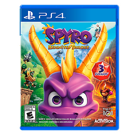 Videojuego Spyro Reignited Trilogy PS4