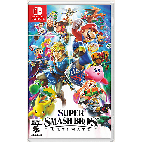 Videojuego Super Smash Ultimate Nintendo Switch
