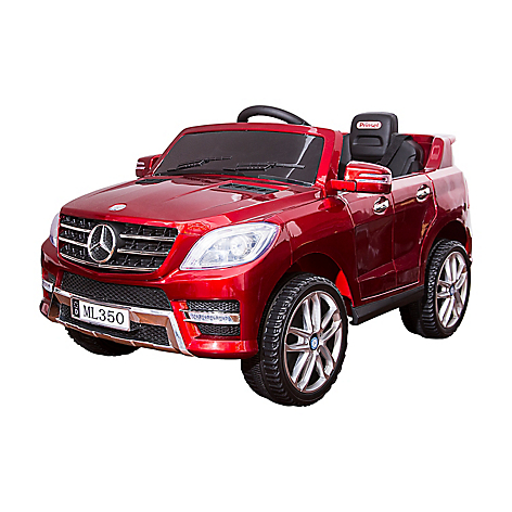 Mercedes Benz Ml350 Red Metallic