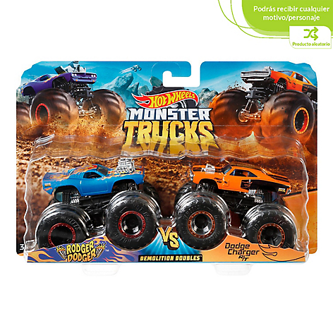 Hot Wheels Monstruks 2 Pack Escala 1:64