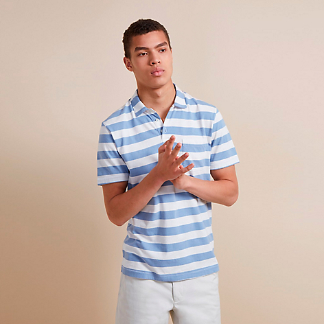 Camisa Harbour Stripe Azul