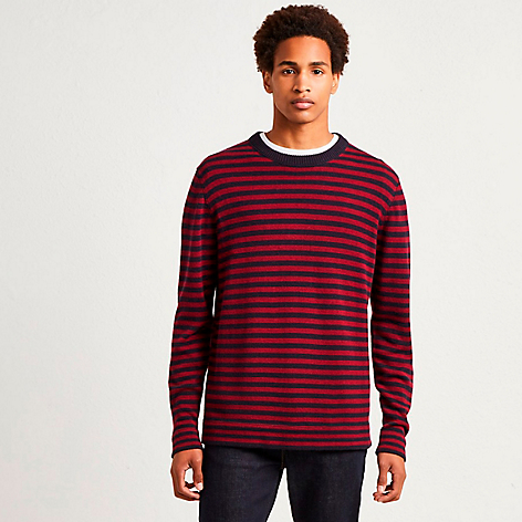 Sweater Stripe Vino