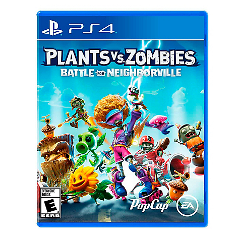 Videojuego Plants Vs Zombies 3 PS4