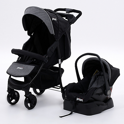 Coche Travel System Negro Moscow