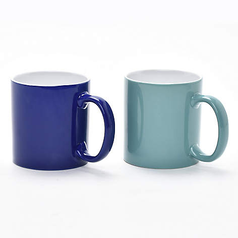 Set 2 Mugs Menta y Turquesa