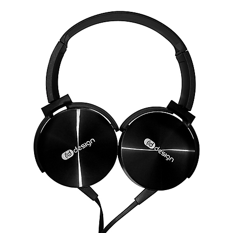 Headphone Wired Negro