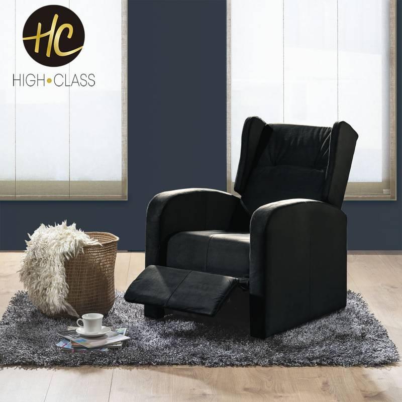 HIGH CLASS - Silla reclinable hc apolo negro