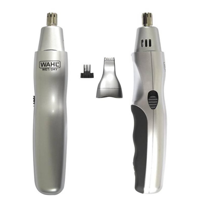 Wahl - Afeitadora depilador rasuradora de oidos nariz y c