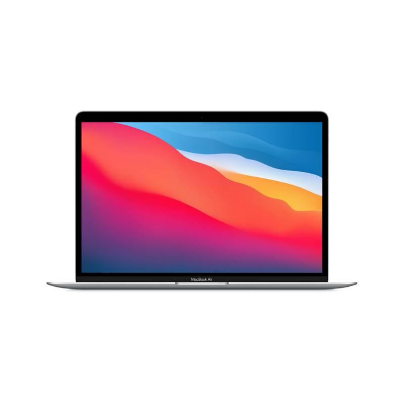 Apple - Macbook Air 13 Pulgadas Apple M1 Chip 8-Core 256GB - Silver MGN93E/A