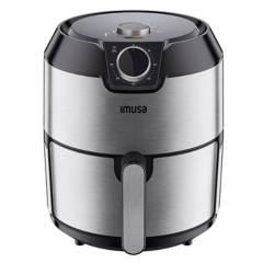 Imusa - Freidora imusa 4.2 litros easy fry inoxidable