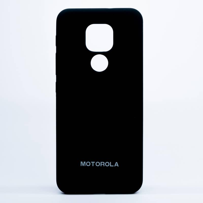 Digicell - Carcasa Moto E7 Plus Silicone Case Negro