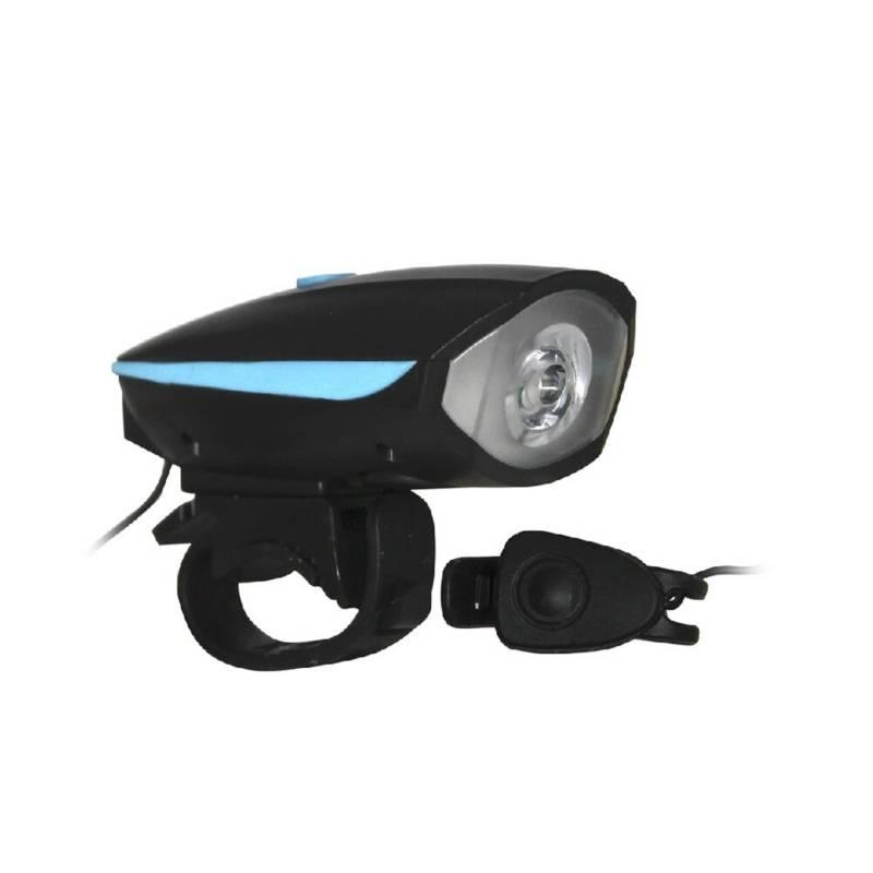 KTS - Linterna luces luz led recargable para bicicleta
