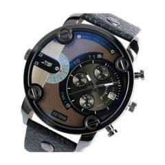 GENERICO - Reloj cuarzo hombre correa cuero w196001