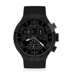 Swatch - Reloj Unisex Swatch Checkpoint Black