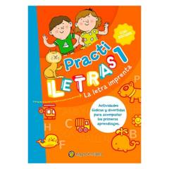 Penguin Random House - Practiletras 1 La Letra Imprenta