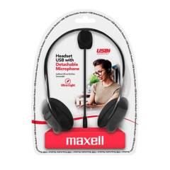 Maxell - Diadema H-Mic Detachable Conexión Usb