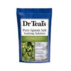 Dr Teal´S - Sal de epsom con aceite esencial de eucalipto y me