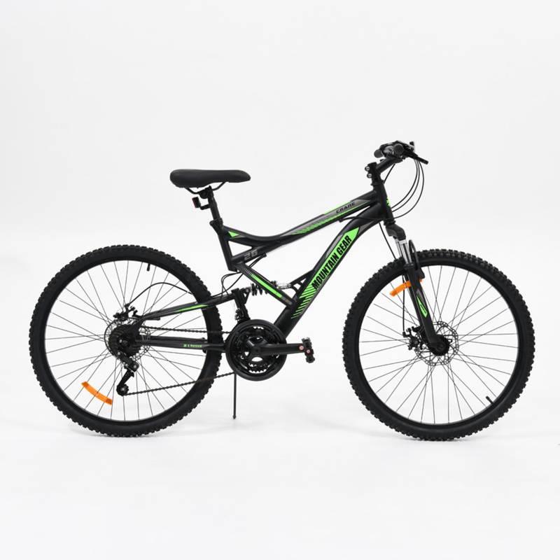 Mountain Gear - Bicicleta de montaña Crane  Mountain Gear 26 pulgadas Unisex