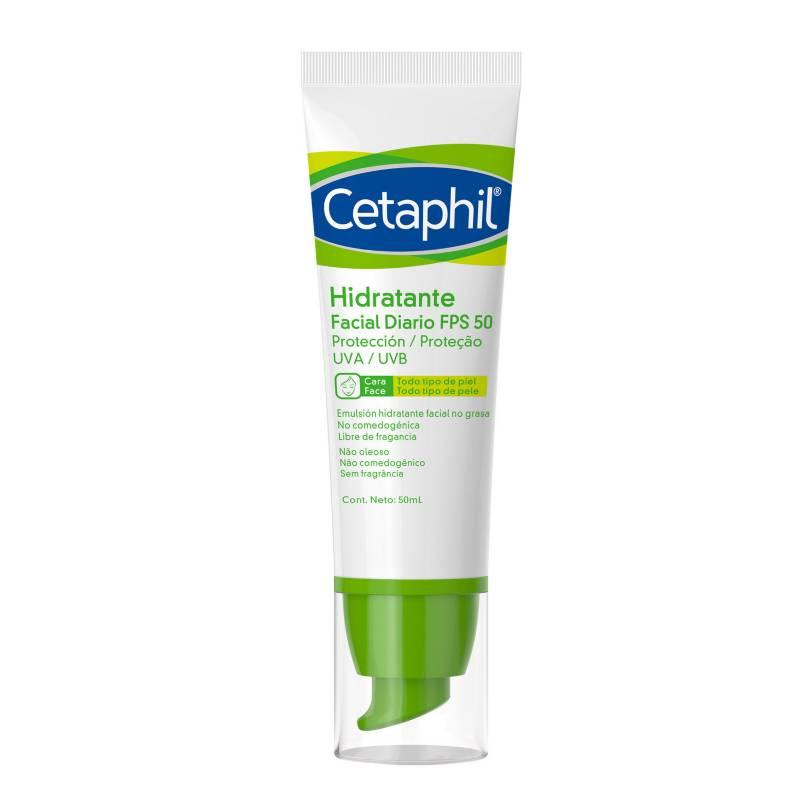 Cetaphil - Hidratante Facial Cetaphil Diario FPS 50 50 ml