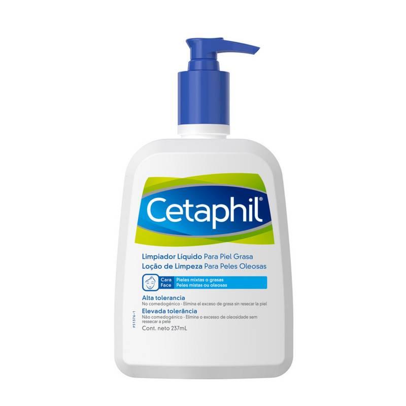 Cetaphil - Limpiador Líquido Cetaphil para Piel Grasa 237 ml