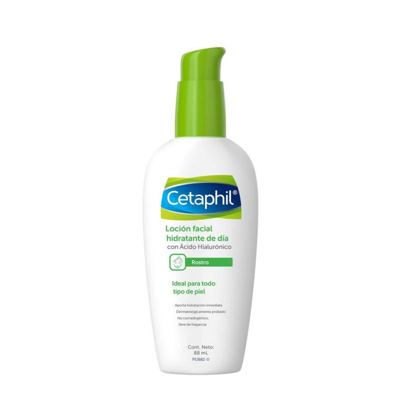 Cetaphil - Loción Facial Hidratante Cetaphil de Día con Ácido Hialurónico 88 ml