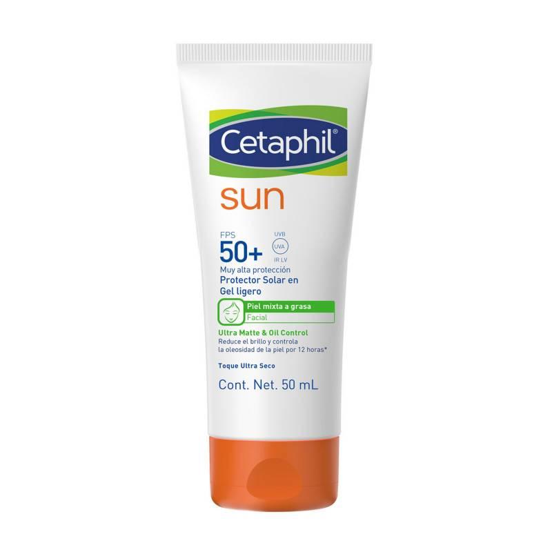 Cetaphil - Fotoprotector Cetaphil Sun Ultra Mate & Oil Control Sin Color 50 ml