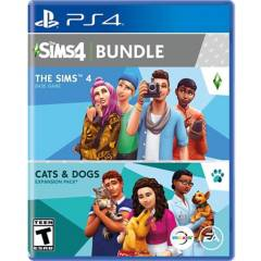 Play Station - The Sims 4 Plus Cats Dogs Bundle