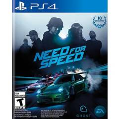 Play Station - Need For Speed Ps4 Ps Hits