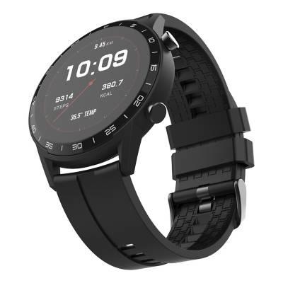 smartwatch multitech con medición de temperatura