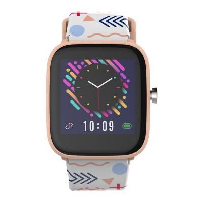 smartwatch kid multitech con medición de temperatura (para niña)
