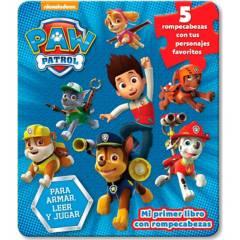 Editorial Planeta - Nickelodeon -mi primer libro con rompecabezas - paw patrol - The Novelty Book