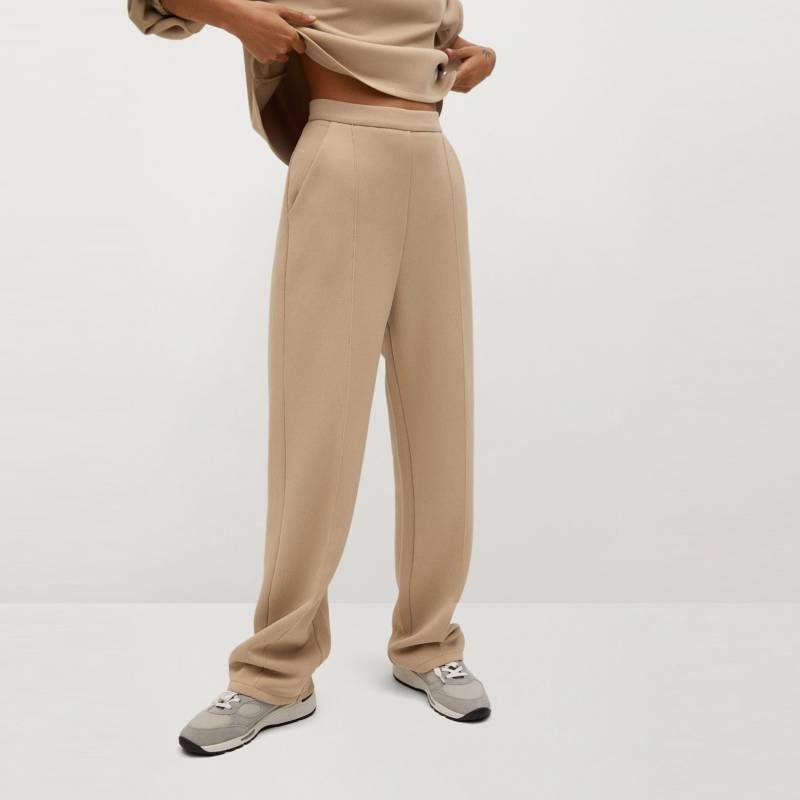 MNG - Pantalón Recto Mujer MNG