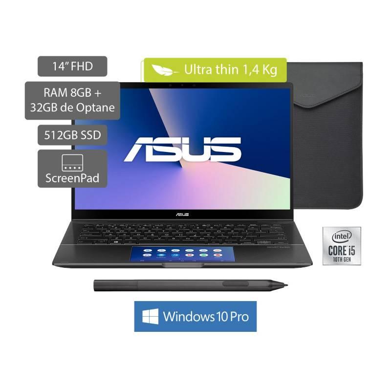 Asus - Portátil Asus Zenbook UX463FA 14 pulgadas Intel Core i5 8GB 512GB