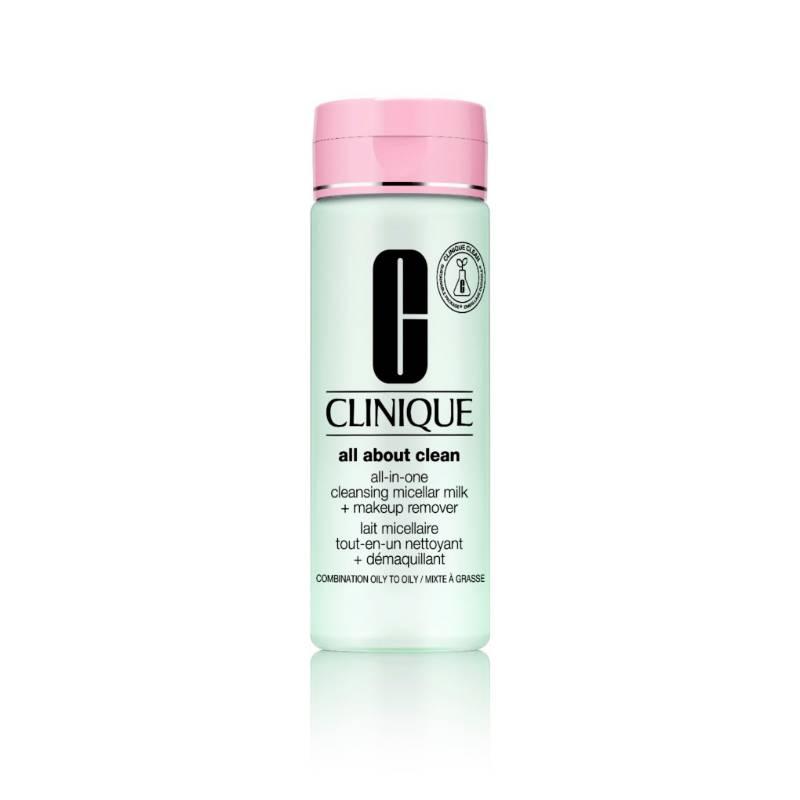 Clinique - Limpiador All About Clean Micellar Milk + Makeup Remover 3, 4
