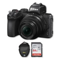 Nikon - Camara Nikon z50 4k con lente 16-50mm + memoria + bolso