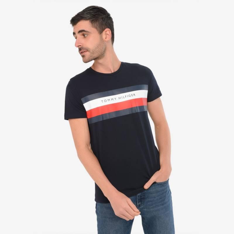 Tommy Hilfiger - Camiseta Hombre Manga corta Tommy Hilfiger