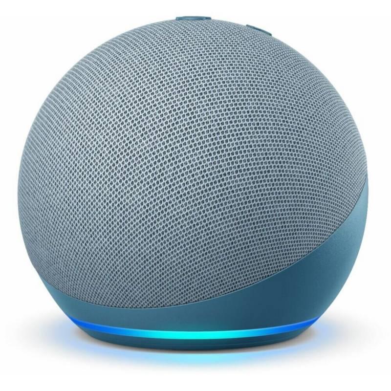 Amazon - Asistente de voz amazon echo dot 4 azul